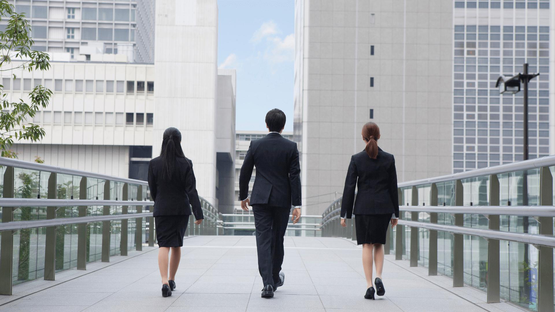 Japanese employees